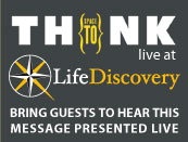Space to Think - live at Life Discovery. Bring guests to hear this gospel message presented live